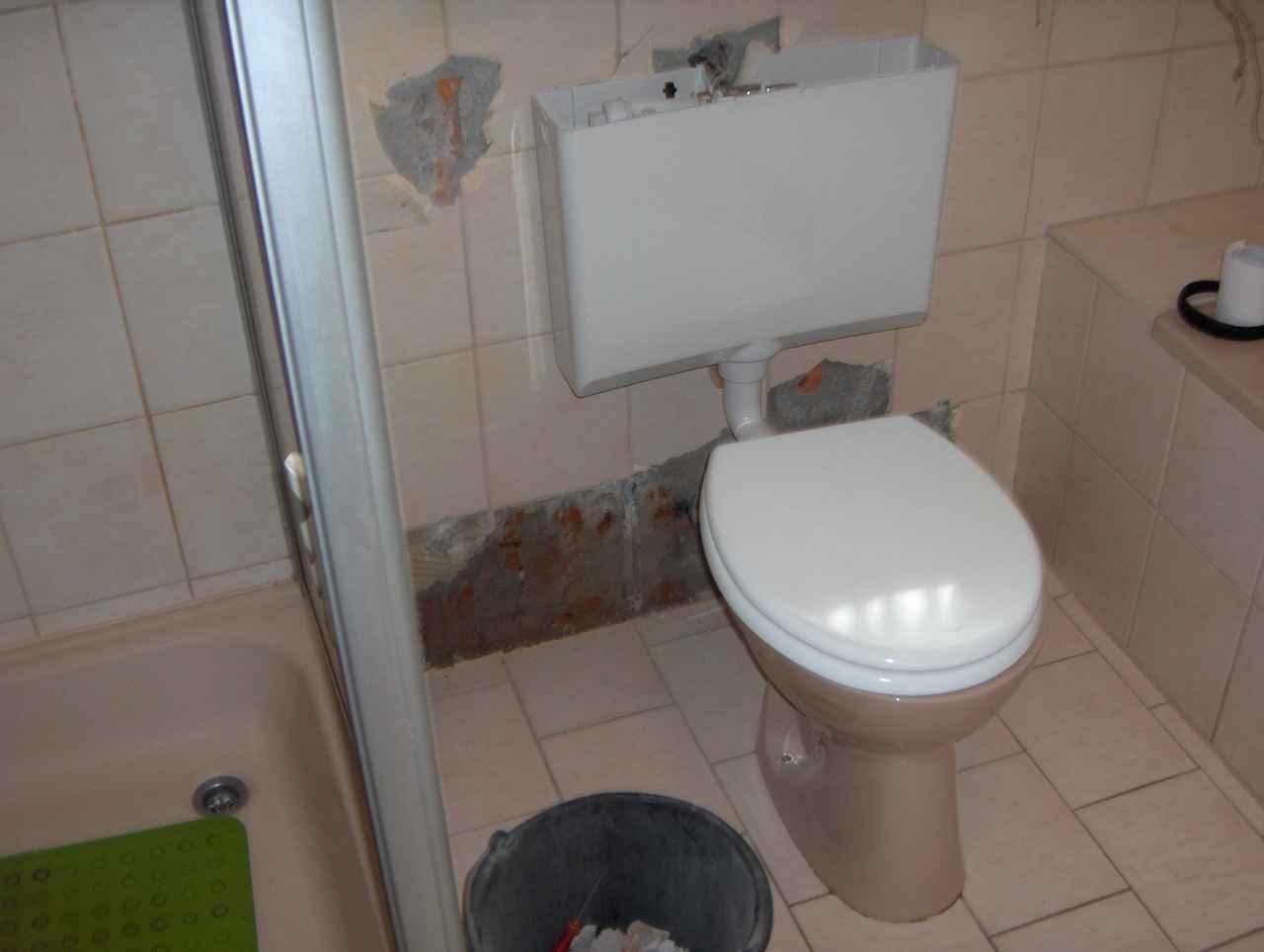 folgenreiche badsanierung in heidelberg wasserschaden an decke in bammental verstopfung mit wc. Black Bedroom Furniture Sets. Home Design Ideas